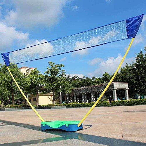hlc 3 in 1 junior outdoor portable badminton set tennis