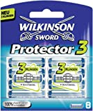 Protector 3D Diamond by Wilkinson Sword Pack of Blades 8 + 2 Free