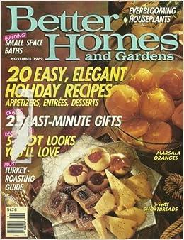 Better Homes And Gardens Mgazine November 1989 20 Easy