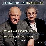 Brahms: Piano Concerto No. 2 / Cello Sonata, Op. 78