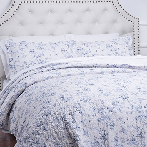 Bedsure-Flourish-Style-All-Season-Classic-Quilt-Set