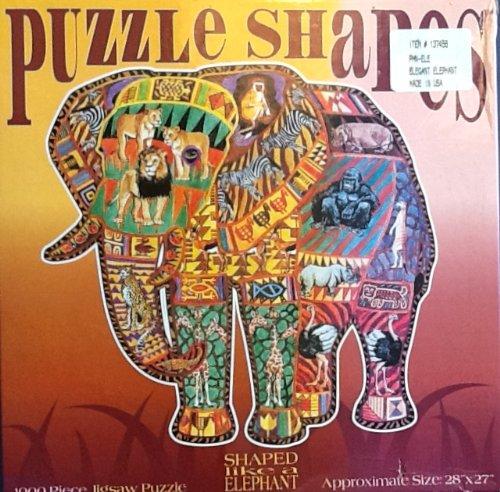 Puzzle Shapes Elegant Elephant Puzzle - 1