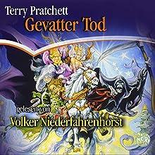 Gevatter Tod (Scheibenwelt 4) Hörbuch von Terry Pratchett Gesprochen von: Volker Niederfahrenhorst
