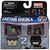 Minimates Marvel Comics Series 40 Captain America - Howard Stark and Hydra Soldier 2 pack Mini Figure