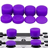 MXRC Thumb Grip Thumbstick Joystick Cap 4 Styles All 8 Units FPS Professional Sets Pack for PS2, PS3, PS4, Xbox 360,Controller Purple (Color: purple, Tamaño: Thumb Grips)