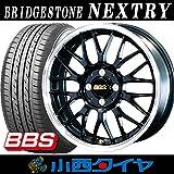 【15インチ】 ブリヂストン ネクストリー 165/55R15 BBS RG-F SK サマータイヤホイール 4本セット NEXTRY 【国産車】