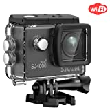 SJCAM SJ4000 WIFI Action Camera FHD1080P waterproof Underwater Camera 12MP Sports Camcorder 2.0 LCD Screen Display -Black