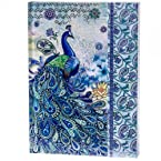 Peacock Design Magnetic Journal