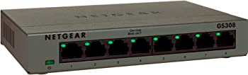Netgear GS308 ProSAFE 8-Port Unmanaged Switch