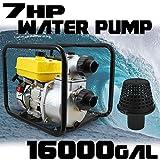 Generic let Outle 4 Stroke Gasoline et Outlet GAS Pump EPA er GAS Pump 7HP 3600RPM Inlet O 16000GPH 3