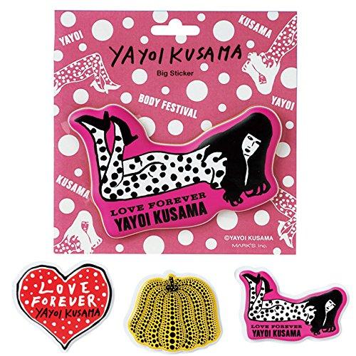 MARK'STYLE TOKYO YAYOI KUSAMA Big sticker PUMPKIN - 1