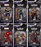 MARVEL LEGENDS - GUARDIANS OF THE GALAXY - INFINITE BUILD A GROOT - SET OF 6 by Hasbro