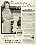 1935 Ad Perfection High-Power Oil Stoves Home Appliance - Original Print Ad ....