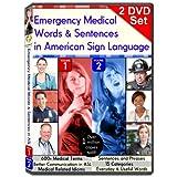 Emergency Medical Words & Sentences in American Sign Language, Vol. 1-2 (2-DVD Set) ~ Gilda Toby Ganezer