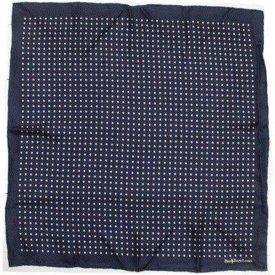 (ポロ ラルフローレン) ポケットチーフ イタリア製 シルク ドット 紺 ネイビー Polo Ralph Lauren POCKET CHIEF 322[並行輸入品]