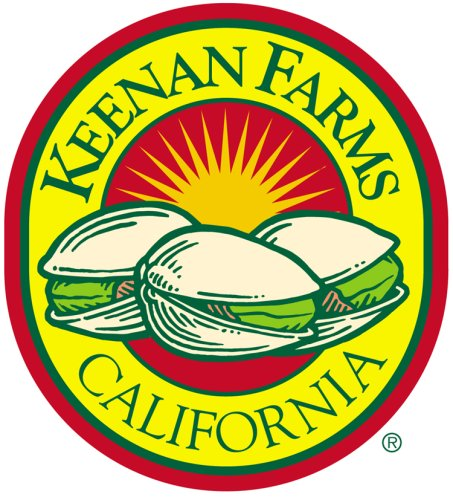 Keenan Farms Bulk Packaging Pistachio Split Kernels Us Extra 1 Raw, 25 Pound Carton