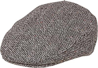 Sakkas Tweed Wool Blend Ivy Golf Driver Flat Irish Cap