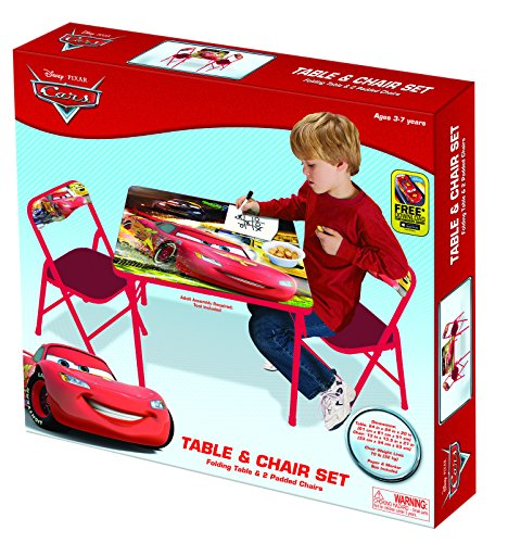 Cars Racers Edge Activity Table Set Furniture Tables Tables