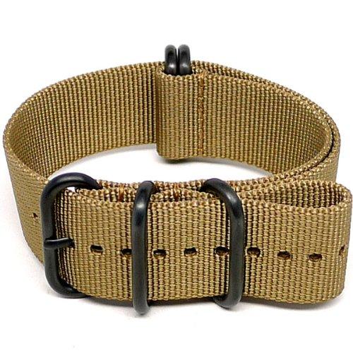 daluca-ballistic-nylon-nato-watch-strap-sand-pvd-buckle-24mm