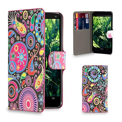 32nd-r-slim-flip-case-wallet-for-huawei-ascend-y300-design-book-jellyfish-huawei-ascend-y300