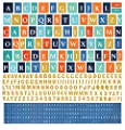 Basic Grey Adrift Alphabet Scrapbook Sticker