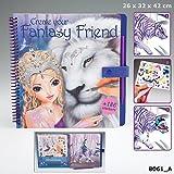 TOPModel 8061 - Create your Fantasy Friend Malbuch mit Rubbelbildern hergestellt von Depesche Vertrieb GmbH & Co. KG