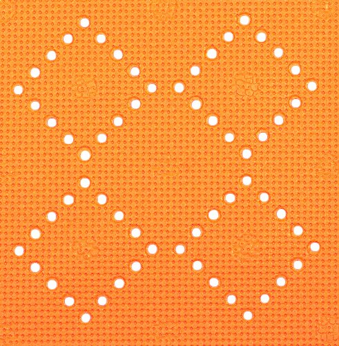 Spirella Alaska 10.13378 Bathtub Mat 91 x 36 cm Orange