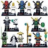 I-STYLE レゴ LEGO 互換 ニンジャゴー 8体セット
