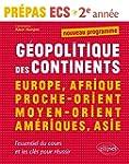 G�opolitique des Continents Europe Af...