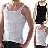 Frogwill Mens Posture Correction/support/pain Relief Slimming Body Vest Shirt (XL, Black-new) (Color: Black-new, Tamaño: XL)