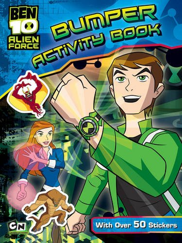 Ben 10 Alien Force Bumper Activity Book