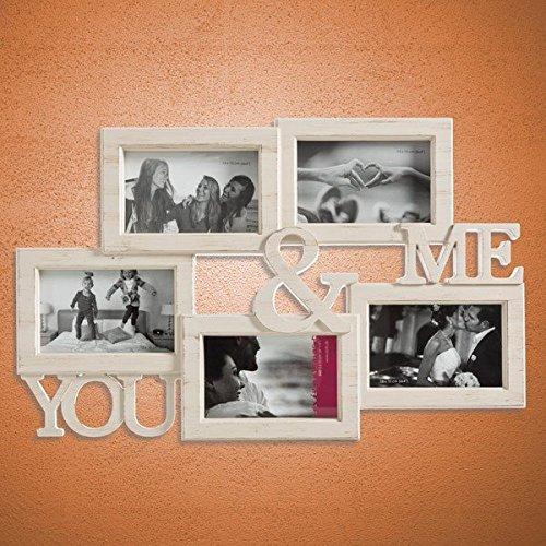 Portafoto Vintage You & Me Multiplo (5 foto)