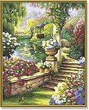 Schipper 609130379 - Malen nach Zahlen - Gartenparadies, 40x50 cm