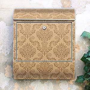 Design Briefkasten 38x42x11 von banjado mit Motiv Streifen   Kundenbewertung und Beschreibung