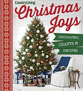 Book Cover: Country Living Christmas Joys: Decorating * Crafts * Recipes