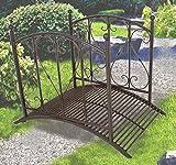 Gartenbrücke mit Geländer