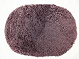 Shop XJ ラグ マット お風呂 玄関 洗面所 モコモコ 丸型(紫)
