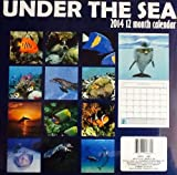 Choose from a Variety of 2014 Calendars- 16 Month Flat Calendar - PROVERBS, DISNEY, HORSES, BIRDS, GOLF, LIGHTHOUSES, CLASSIC CARS, FISH, PUPPIES, KITTENS, WINNIE THE POOH, PIXAR CARS, USA, TROPICAL, SCENIC, ETC...Excellent Stocking Stuffer, Neighbor Gift (Under The Sea 12 x 12)