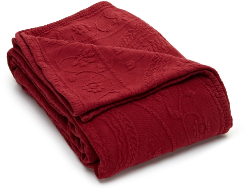 Red King Size Bedding 5321 front