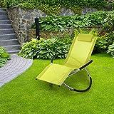 Blumfeldt-Chilly-Billy-Liegestuhl-Relaxliege-Gartenstuhl-Alustuhl-Aluminium-Stuhl-fr-Wohnung-Balkon-Garten-oder-Terrasse-klappbar-Schaukelstuhl-Sicherheits-Stopper-bis-180kg-grn