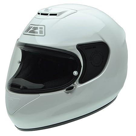 NZI 010265G049 Spyder V White, Casque de Moto, Taille M Blanc