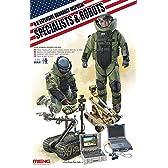 1/35 アメリカ爆発物処理作業者とロボット MENHS-003
