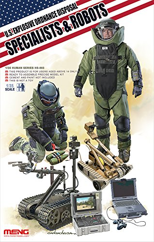 Meng U.S. Explosive Ordnance Disposal Specialists and Robots Model Kit (Ordnance Group Llc compare prices)