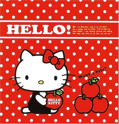 Sanrio Hello Kitty Photo Album for L size (Apple)