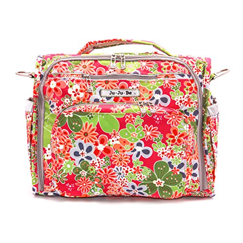 Ju-Ju-Be B.F.F. Convertible Diaper Bag, Perky Perennials