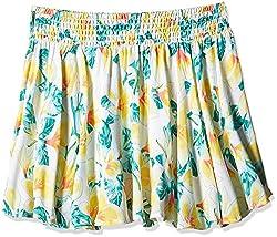 Pumpkin Patch Girls' Skirt (S5GL70007_Clean White_10)