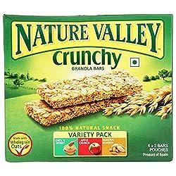 Nature Valley Crunchy Granola Bars, Variety Pack, 252g