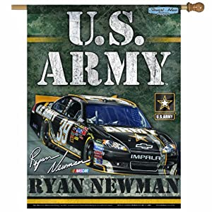 NASCAR Ryan Newman 27-by-37 Inch Vertical Flag by WinCraft