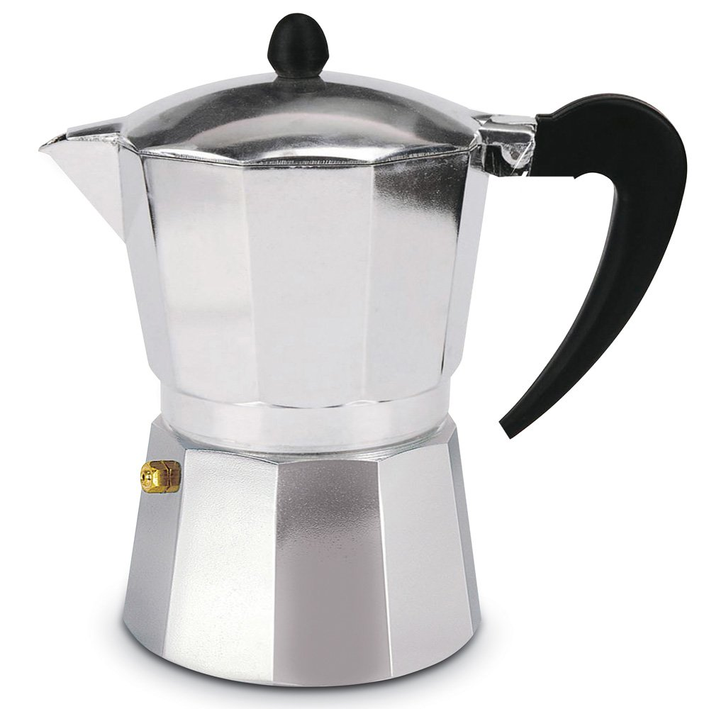 Aluminum Espresso Stovetop Coffeemaker - 1.5oz