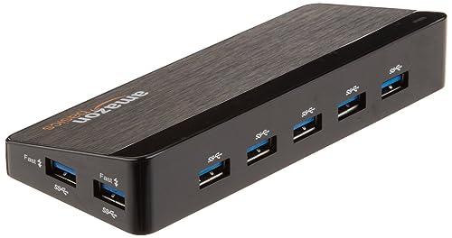 AmazonBasics 7 Port USB 3.0 Hub with 12V/3A Power Adapter ...